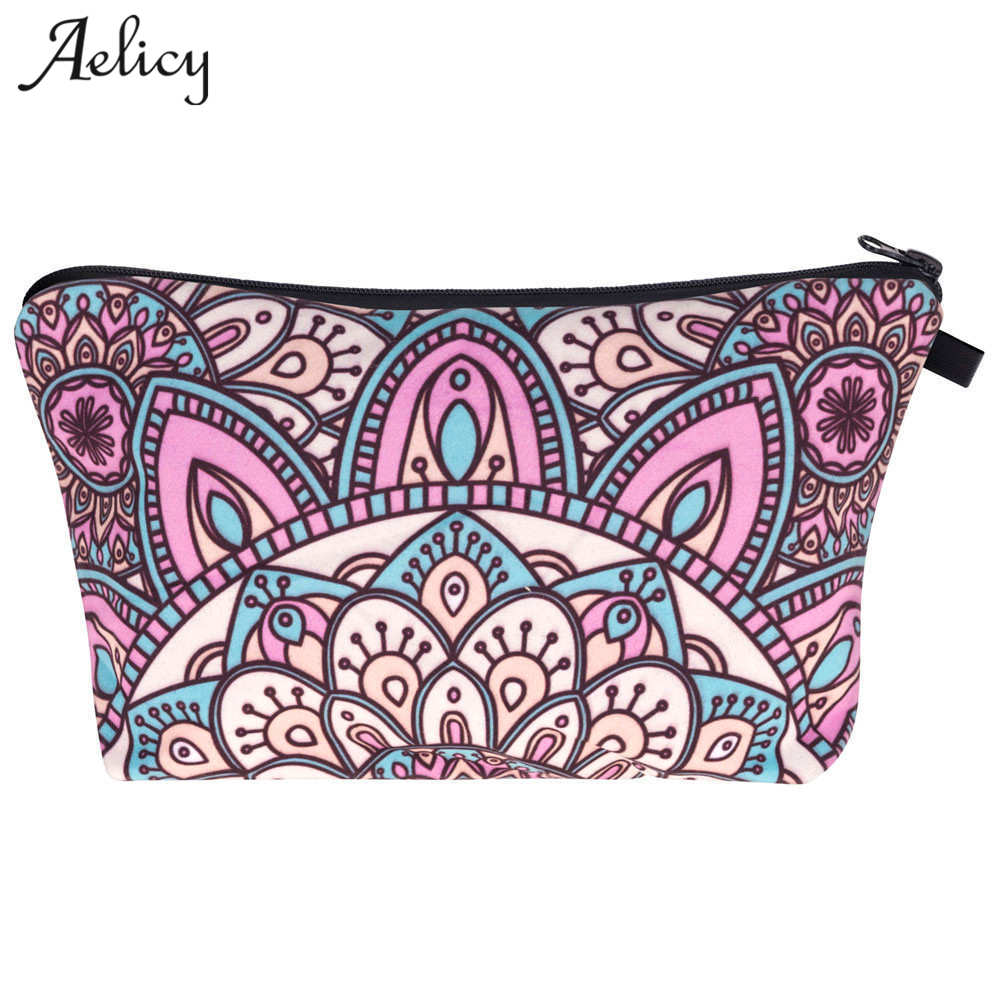Aelicy luxury Women Makeup Bag Cosmetic Bags Case Portable Travel Make Up Organizer Toiletry Bags kits Storage Travel Wash Pouch цена
