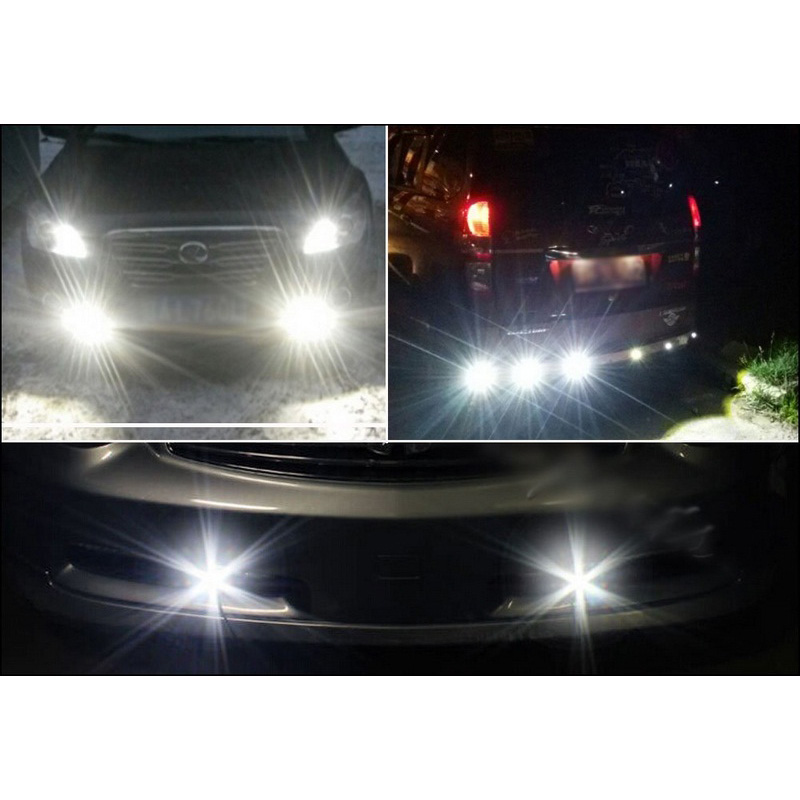Image 2 - 10pcs/lot 23MM Car LED Eagle Eye Light Car Daytime Running Lights 12V Auto Backup Reversing Parking Signal Lamps Car Light-in Car Light Assembly from Automobiles & Motorcycles