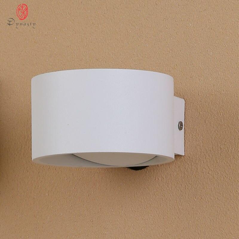 Dynasty Moderní nástěnná lampa Hliníková 5W AC110 / 220 - Vnitřní osvětlení