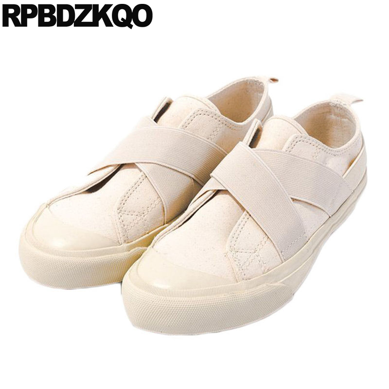 china vintage white canvas shoes black