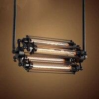 Village Pendant Lights With 110V/220V E27 Edison Light Bulb Retro Industry Steam Punk Style Restaurant Bar Loft Lamp