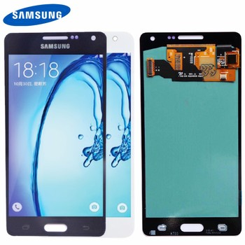 Remplacement AMOLED pour SAMSUNG Galaxy A5 2015 LCD Affichage A500FU A500 A500F A500M Écran Tactile Digitizer Pour SAMSUNG Galaxy A5
