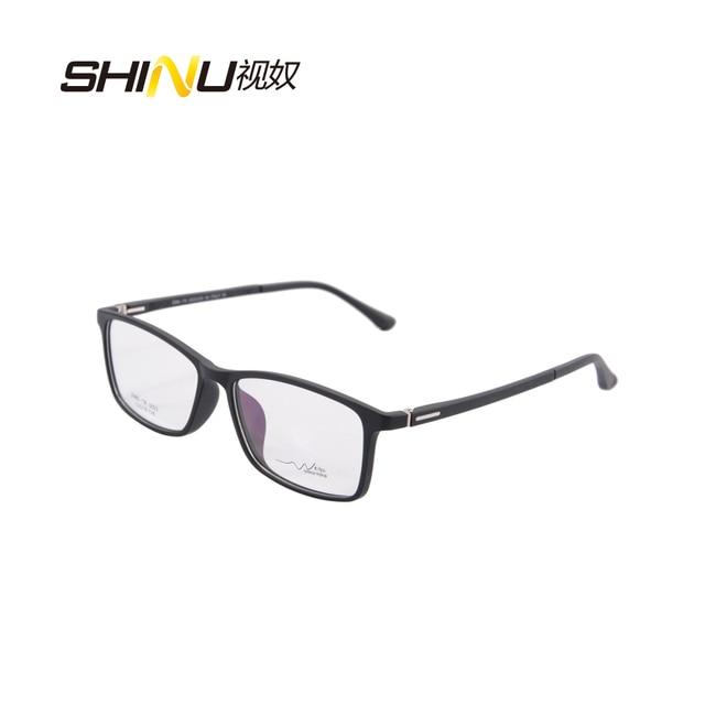 42f3b3e2b6532 Aro completo armações de óculos homens mulheres Óculos de Armação Retangular  vermelho TR3022 armacao de oculos