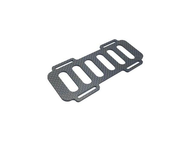 2 uds. Soporte de placa fija de fibra de vidrio epoxi de fibra de carbono Lipo Base de montaje ESC 120x53x2mm piezas para barco eléctrico RC