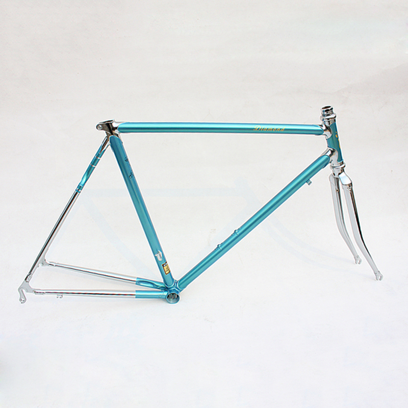 Reynolds 525 Chrome Molybdenum Steel Fixie  Frame DIY Road Bike Frame 700 C Frame 48 Cm 50 Cm 52 Cm 54 Cm 56cm 58cm