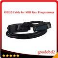 Автомобиля OBD OBD2 16pin Кабель для SBB Ключевые Программист V33 OBD2 разъем 16 pin obdii кабель для Sbb главный испытательный кабель