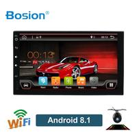 Bosion 2 din car radio gps android 9.0 car stereo cassette player recorder Radio Tuner GPS Navigation RDS SWC WIFI BT quad core