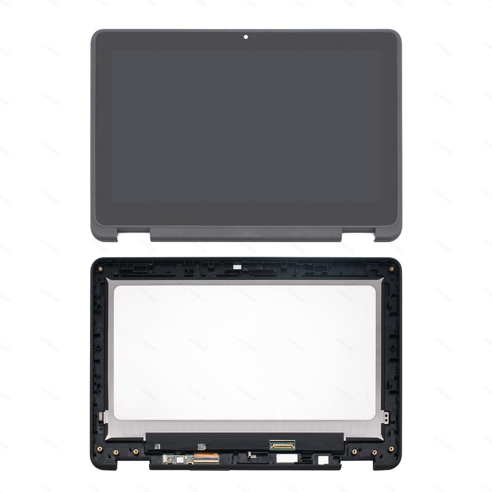 11.6 For Dell Chromebook 11 3189 IPS LCD Display Touch Screen Glass Digitizer Assembly +Bezel B116XAB01.2 KG3NX 4WT7Y G7D8411.6 For Dell Chromebook 11 3189 IPS LCD Display Touch Screen Glass Digitizer Assembly +Bezel B116XAB01.2 KG3NX 4WT7Y G7D84