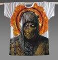 Nuevo 2017 Classic Famoso Jugador Del Juego Mortal Kombat Subzero Escorpión Hombres Camiseta Top Del Envío gratuito