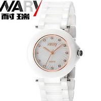 The new trend of fashion temperament elegant ladies ceramic business casual Watch