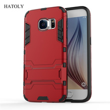 HATOLY For Cover Samsung Galaxy S7 Case Robot Armor Rubber Hard Phone Case for Samsung Galaxy S7 Cover for Samsung S7 G930F <