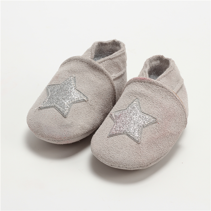 100-Genuine-Leather-Baby-Boys-Shoes-Baby-Moccasins-Crown-and-Stars-Soft-Bottom-First-Walkers-Free-shipping-2