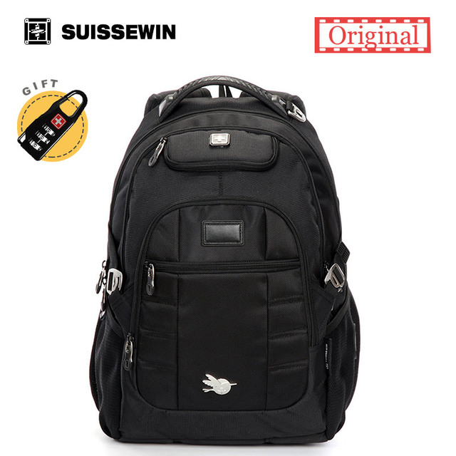 Aliexpress.com : Buy 2017 Suissewin Brand Men Laptop Backpack Bag ...