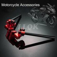 Мотоцикла С ЧПУ Регулируемая Рулевая Рукоятка Съемный Руль для kawasaki z125 15-16 bws125 tmax 500 530 smax155 bwsr pcx
