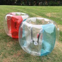 Outdoor Activity ball PVC Inflatable Bubble Collision Bumper Buffer Ball Training Running Sport with Family or friend Game Body