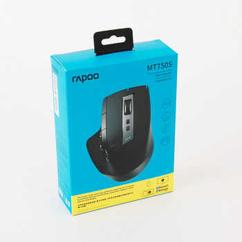 Rapoo MT750S Original Wireless Mouse Rechargeable Multi-Mode Bluetooth Mouse Switch Between Bluetooth and 2.4G