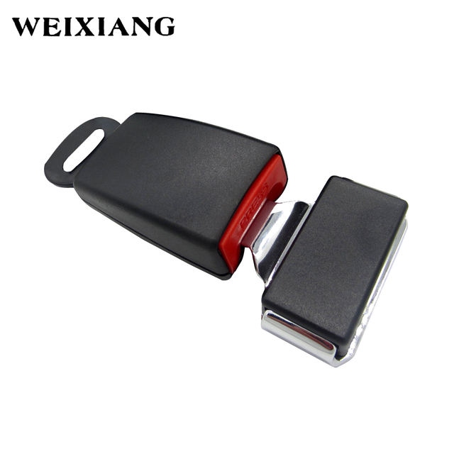 Car Seat Belt Lock Buckle Clip For Belts Extender 2 Point Safety Seatbelts