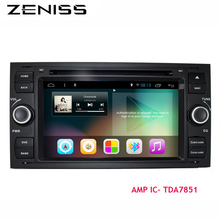 Free Shipping Quadcore 2 din android car dvd for ford focus1 universal for focus 1 GPS Car Stereo for ford android car
