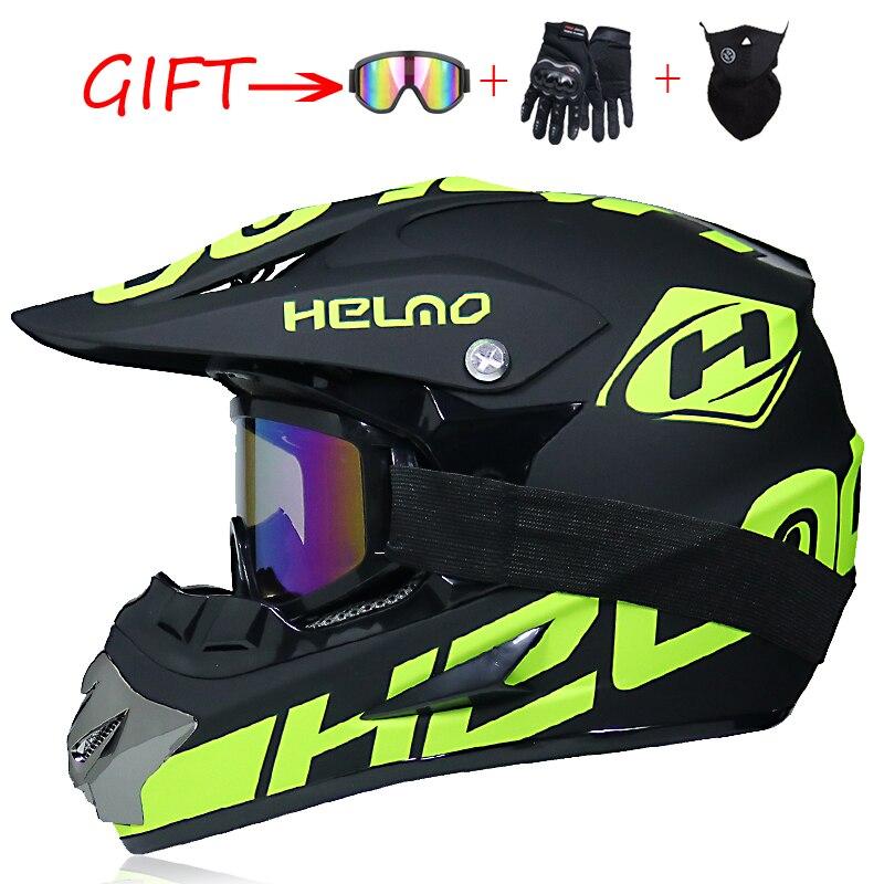Casque de Motocross fougueux hors route professionnel vtt Cross casques vtt DH course Moto casque Dirt Bike Capacete de Moto casco