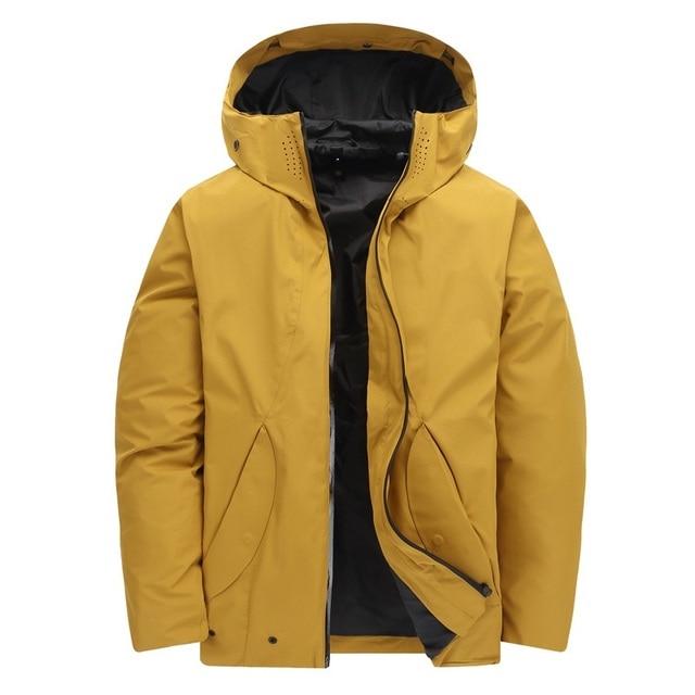 1b1950783e6 Men Down Jacket Male Winter Outdoor Down Coat Soft Waterproof Windproof  Breathable Thermal Sport Outerwear 2019