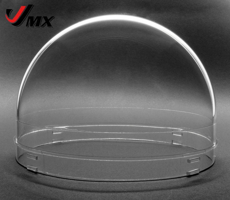 JMX 4.8 INCH Acrylic Indoor / Outdoor CCTV Replacement ULTRATHIN Clear Camera Dome Housing new 2 inch clear camera dome cover for indoor outdoor cctv webcam replacement free shipping