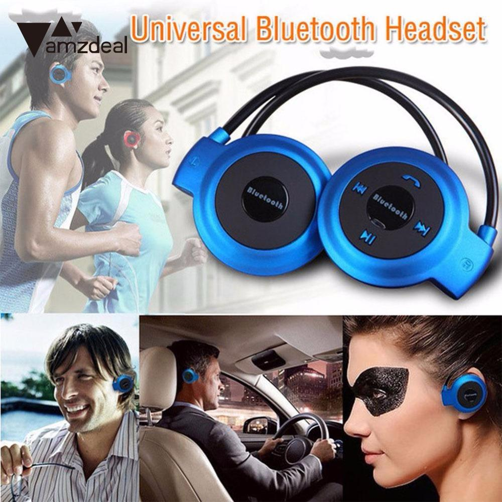 amzdeal New Arrival 503 Bluetooth Wireless Headset Sport Stereo Headphone Earphone For Smartphone Professional Music earphones fw1s 2016 new arrival q9 wireless bluetooth 4 1 stereo earphone sport running studio free shipping