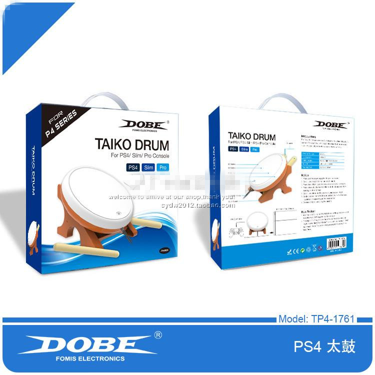 DOBE Soft leather Taiko Drum Gaming For PS4/SLIM/PRO Joy-Con Game Drum dobe tyx 539 media remote controller