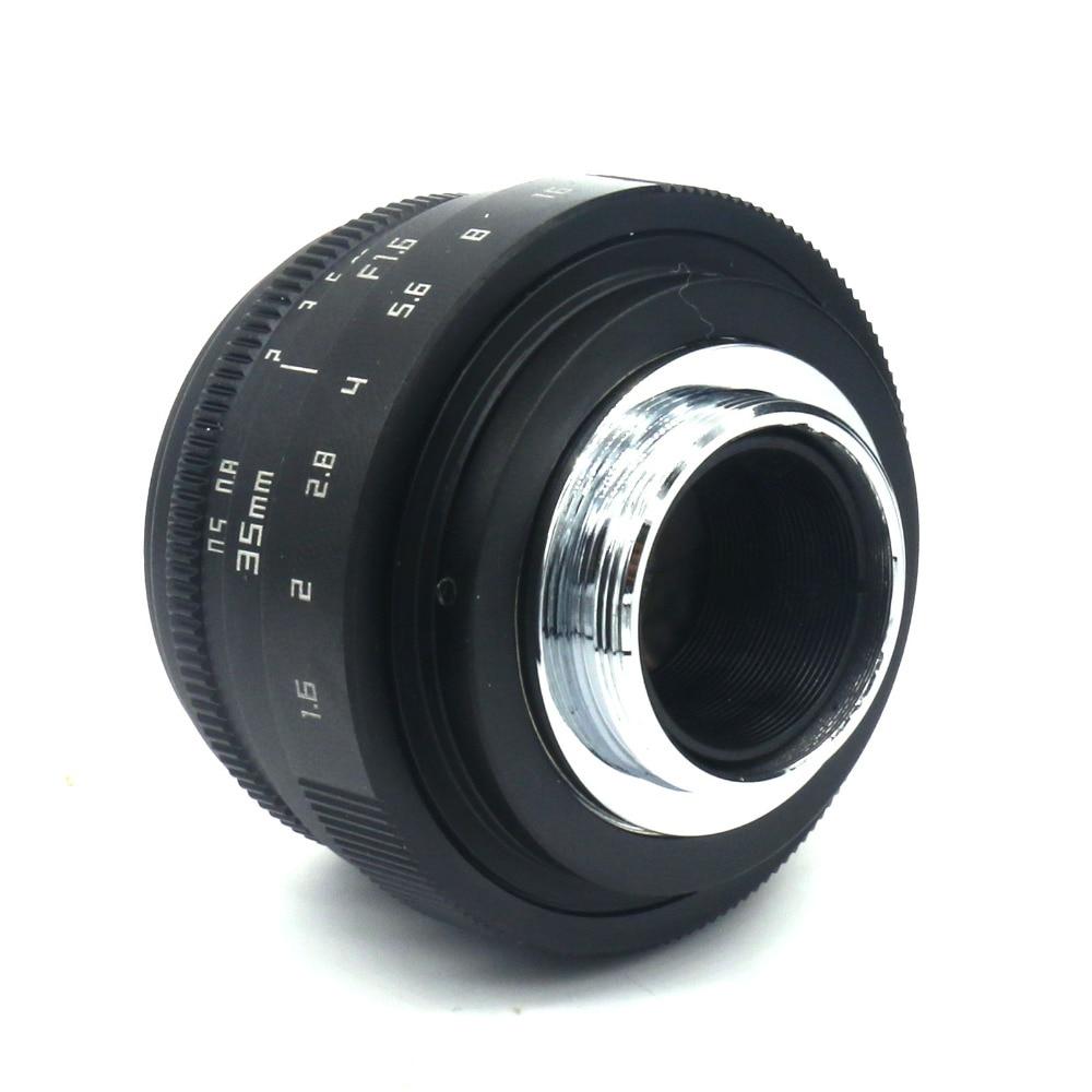 Lentet e kamerës Fujian 35 mm f / 1.6 CCTVII për kamerën Sony NEX - Kamera dhe foto - Foto 4