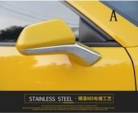 Fit for Camaro Bumblebee reversing mirror trim sequins trim interior trim 16 17