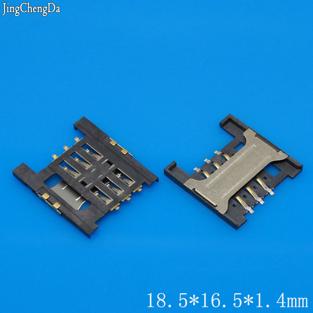 Jing Cheng Da 1pcs/lot new sim card reader holder socket for Lenovo A3000 A3000-H A5000 A568t A788t K860i SIM card slot