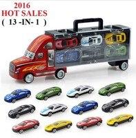 O Grande Pixar Carros Pequenos Modelos de Liga Leve Carro de Brinquedo caminhão de Transporte das Crianças Brinquedos Educativos Modelo de Simulação Presente Para As Crianças brinquedos