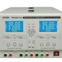 ATTEN TPR3003T-3C Подлинная двухсторонняя регулируемая постоянная напряжение постоянный ток DC источник питания лабораторный источник питания