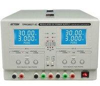 ATTEN TPR3003T 3C подлинный двухсторонний регулируемый Постоянное напряжение постоянный ток DC Блок питания лабораторный блок питания