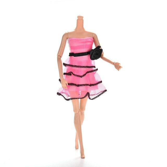 Rose Blume Prinzessin Puppe Kleid Top Mode Kleid Für Schöne