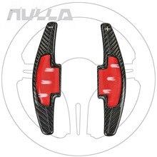 Engrenagem Shifter de Remo de Fibra De carbono Para Honda Acura Odyssey Accord Civic CR V Patilhas Volante Car Styling Acessórios
