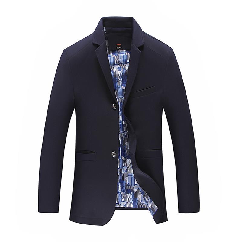 Mode 5xl Couleur Décontractée 1 Manteaux Vestes 10xl Veste Costume Blazer 2 Hommes 8xl 3 Classique 6xl 9xl Solide Mens Coton wtqqCvI