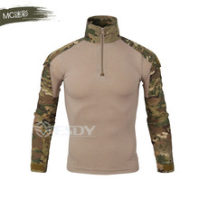 High quality 2017 men's military camouflage suit suit wolf with the long-sleeved  camouflage clothing dress military train