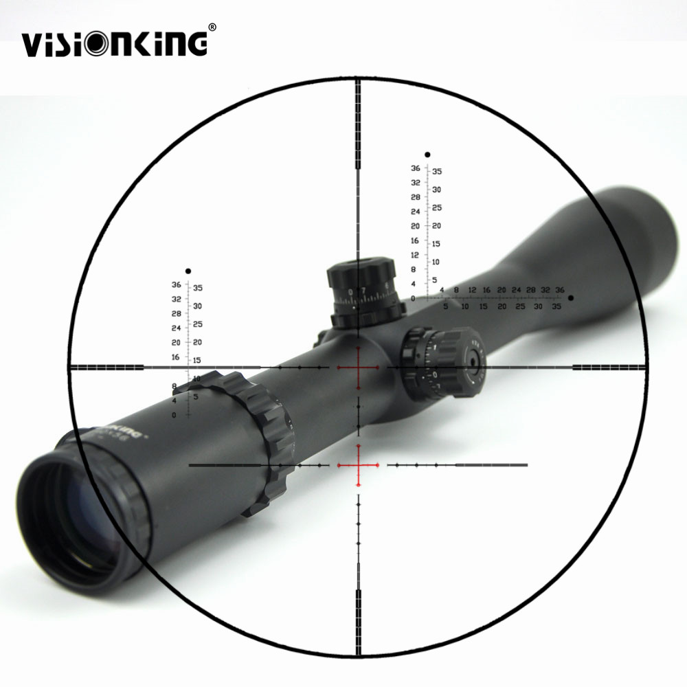 Visionking 10 40x56 Long Range 35mm Tube Optics Sight Telescopic Scope W 21mm Mounts Honeycomb Sunshade