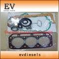 Восстановленный двигатель Прокладка для Yanmar 3D84-1 3TN84 3T84 полный комплект прокладок/комплект прокладок головки блока цилиндров
