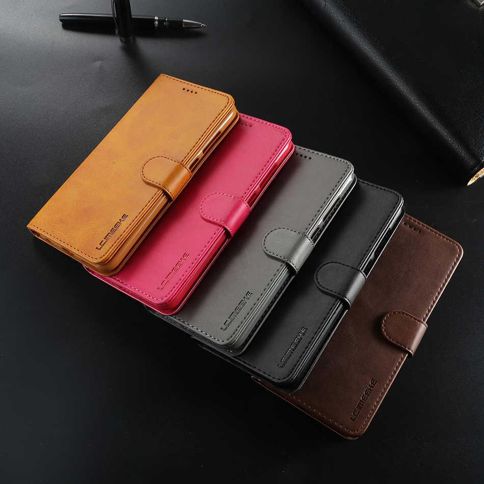 Sang Trọng Retro Da điện Cho iPhone XS Max 6 6 S 7 8 XR Ví Bao Da Có Khe Cắm Thẻ túi Đựng điện thoại Redmi 4A 4X Note 5A 5 Pro