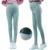 Color sólido Invierno Cálido Polainas para Las Mujeres Embarazadas de Maternidad Cómodo Cuidado Del Vientre Pantalones Ropa de Maternidad Embarazo Ropa