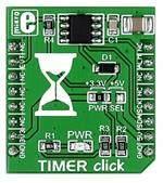 Placa de Desenvolvimento do Módulo TEMPORIZADOR MIKROE-2333 CLIQUE DS1682 Enrolador