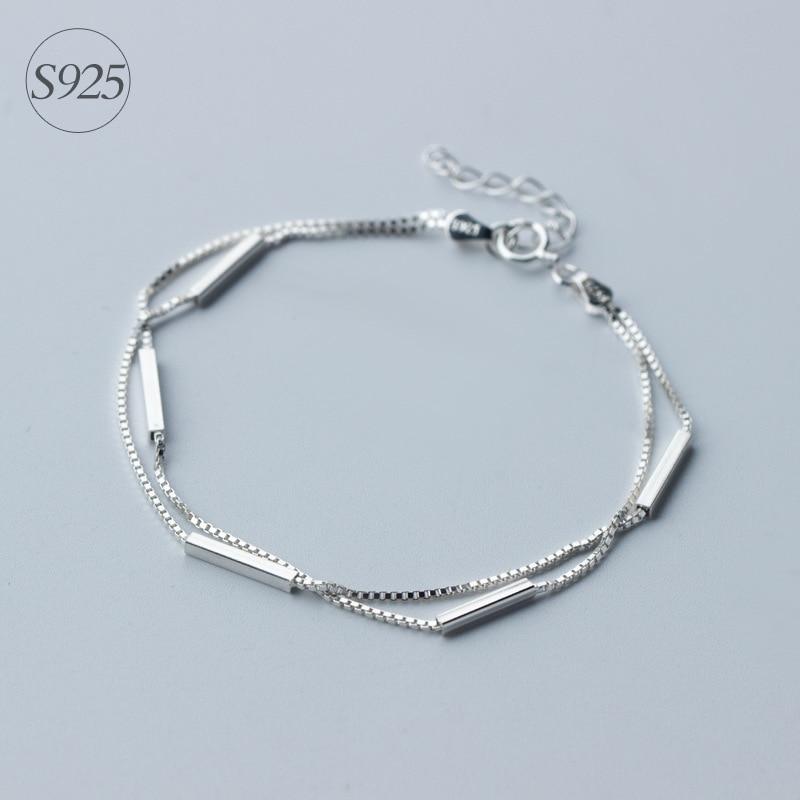 Cadena Elástico Flexible envuelto Cadena Elegante Con Cuentas Perlas Blancas nupcial Tobillera