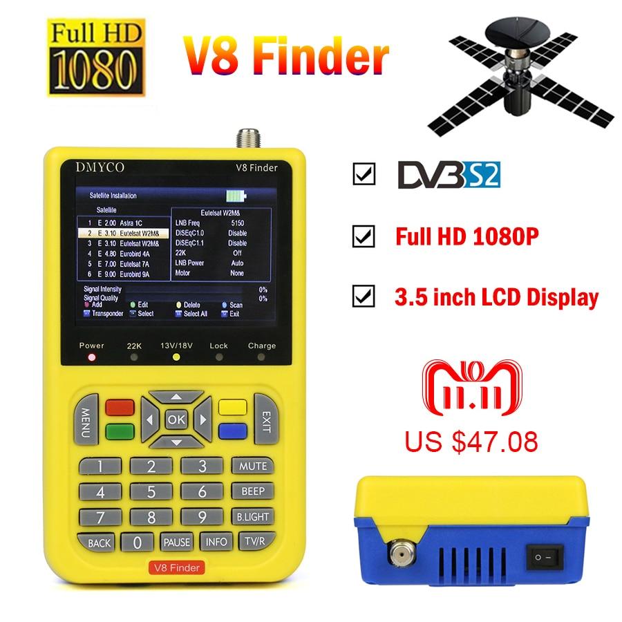 V8 Finder HD satfinder DVB-S2 High Definition Satellite Finder MPEG-4 DVB S2 Satellite Meter Full 1080P V8 Finder lnb sat finder dvb s2 freesat v8 finder hd 1080p satellite finder mpeg 2 mpeg 4 dvb s2 satellite meter lnb free sat finder v8 receiver v 71 hd
