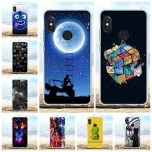 купить For Xiaomi Redmi Note 5 Pro Case Soft TPU Silicone For Xiaomi Redmi Note 5 Pro Cover Scenery Pattern For Redmi Note 5 Pro Coque дешево