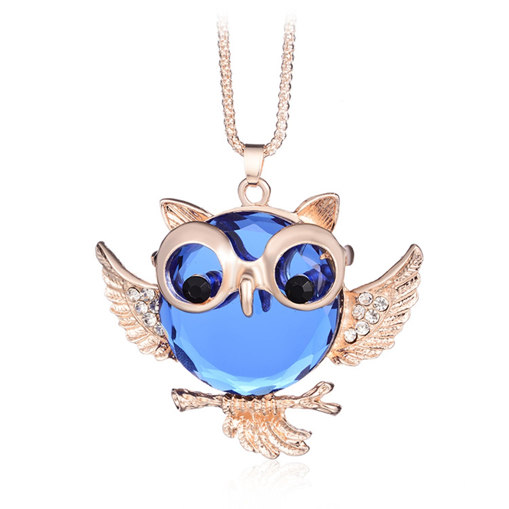 Owl Sweater Chain Stylish Personality Necklace Women's Items Beautiful Gifts for Your Friends image
