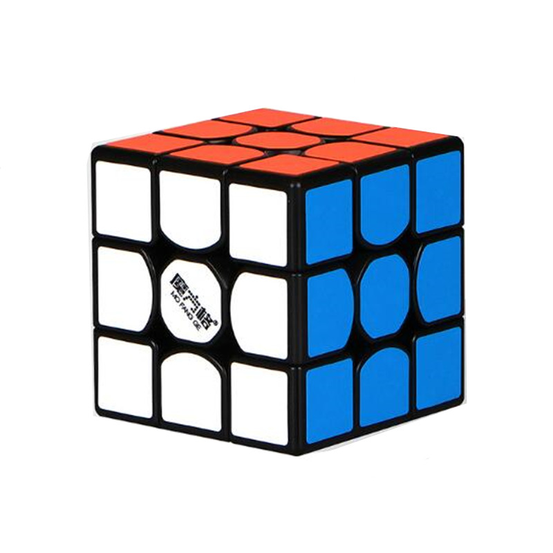 QiYi MoFangGe New thunderclap v2 Magic Cube 3x3x3 Thunder Clap Puzzles Cube professional Speed magico Cubo Traditional Cube Toys