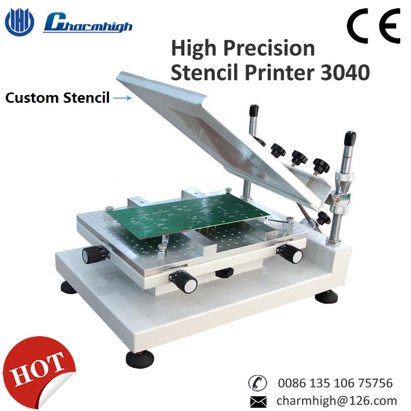 High Precision Solder Printer 3040 Solder Paste Printer Manual Stencil Printer Best Quality Recommend