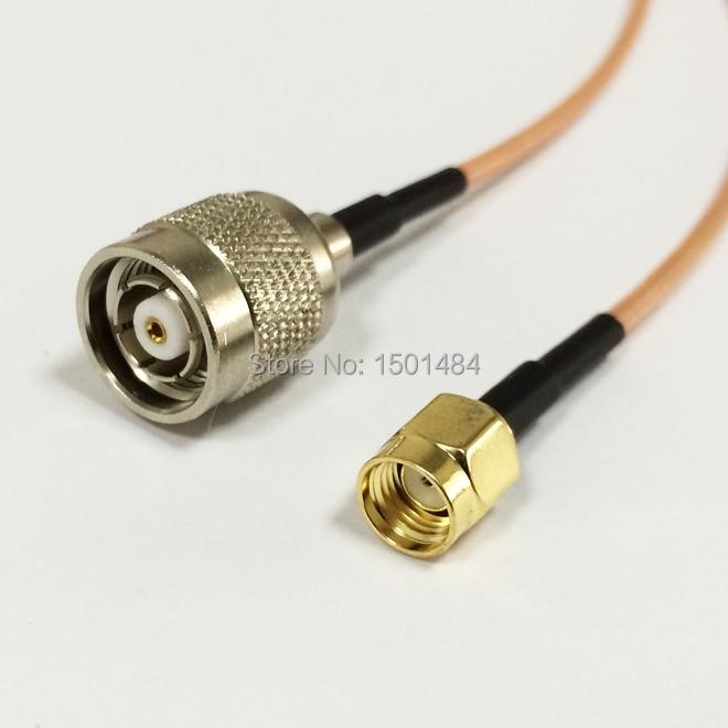 RG316 SMA MALE to MINI UHF FEMALE Coaxial RF Cable USA-US