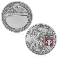 Coins 82nd Airborne Division All American Commemorative Challenge Coin Collection Gift Warm's house #X109Q#